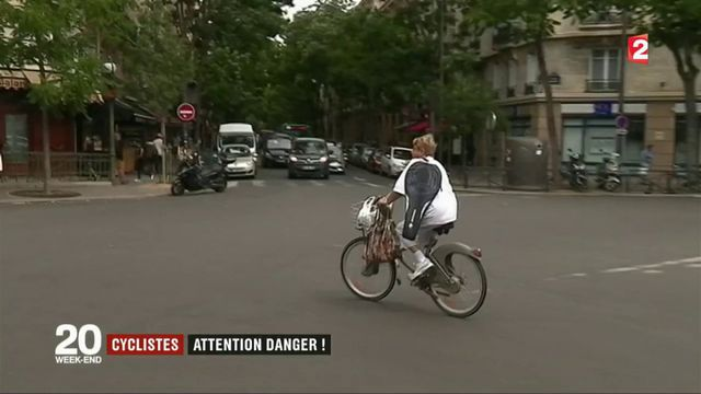 Cyclistes : attention danger !