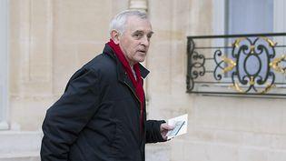Jean Jouzel arrive à l'Élysée lors d'une conférence sur l'environnement, en novembre 2014. (ALAIN JOCARD / AFP)