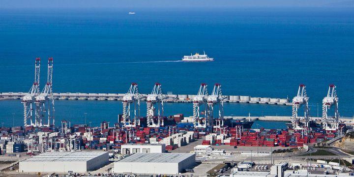 Port Tanger-Méditerranée au Maroc, face à Gibraltar et à l'Europe. (AFP/ Calle Montes / Photononstop)