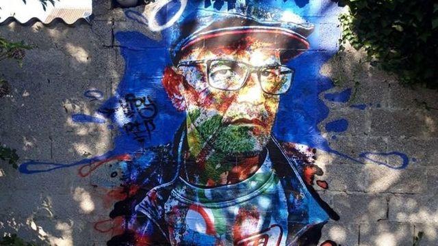 Portrait de Vyrüs un graffeur Calaisien