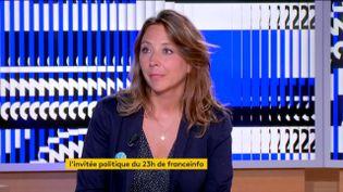 Sandra Regol, porte-parole d'EELV (FRANCEINFO)