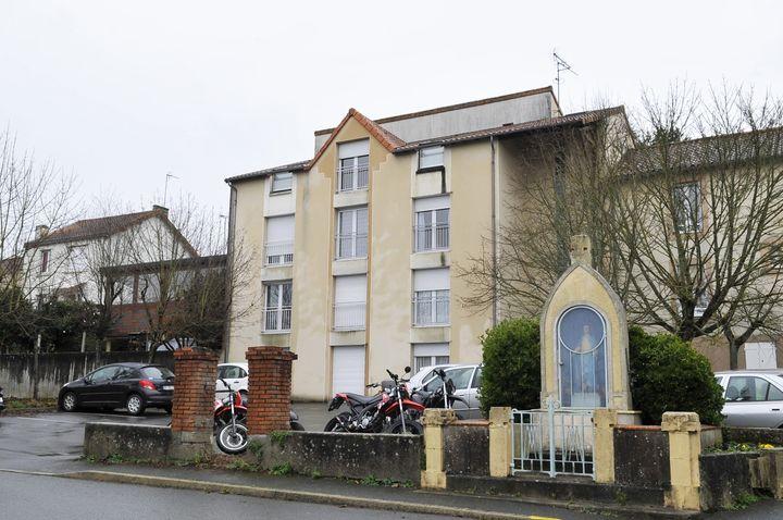 La résidence où habite Sébastien Troadec, à Saint-Laurent-sur-Sèvre (Vendée). (MAXPPP)
