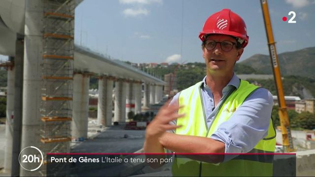 Gênes : le nouveau pont est prêt