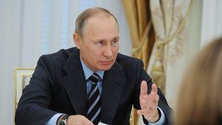 Malgré les fortes tensions entre la France et la Russie sur le dossier syrien, Vladimir Poutine prévoit toujours de venir à Paris le 19 octobre (SPUTNIK PHOTO AGENCY / REUTER / X02440)