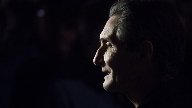 Attilio Fontana, le président de la région Lombardie, le 7 mars 2018. (MARCO BERTORELLO / AFP)