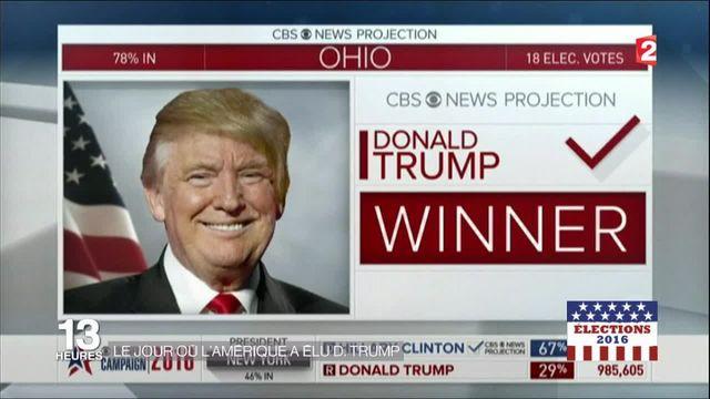 Présidentielle : le jour où l'Amérique a élu Donald Trump