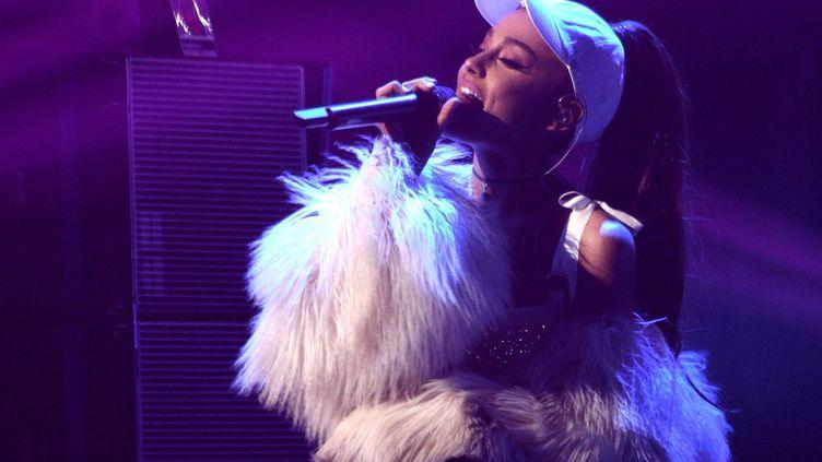 La chanteuse Ariana Grande, le 14 décembre 2016 à Chicago (Etats-Unis). (SIPANY/SIPA / SIPA USA)