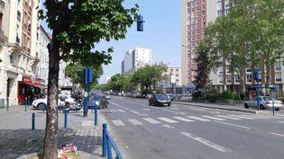 L'avenue Jean Jaurès à Aubervilliers. (HAJERA MOHAMMAD / RADIO FRANCE)