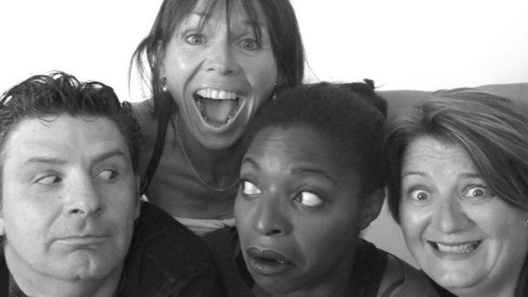 Les Fêlés du Vocal : Hervé Aknin, Odile Fargère, Emilienne Chouadossi, Pascale Gautier  (Léa Panel / Les Fêlés du Vocal)