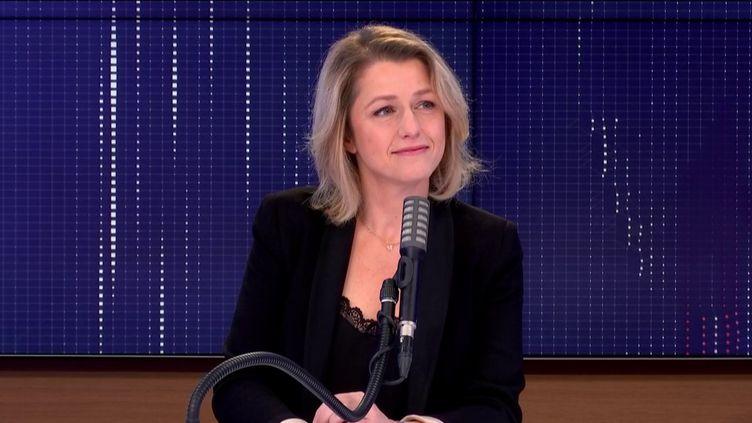 Barbara Pompili,ministre de la Transition écologique était l'invitée de franceinfo, lundi 23 novembre 2020. (FRANCEINFO / RADIOFRANCE)