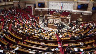 De nombreux députés vont quitter l'hémicycle en raison de la loi sur le non-cumul des mandats. (CHAMUSSY / SIPA)
