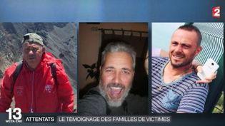 Eddie Touati, Antonio De Oliveira Basto etArnaud Cazier. (FRANCE 2)