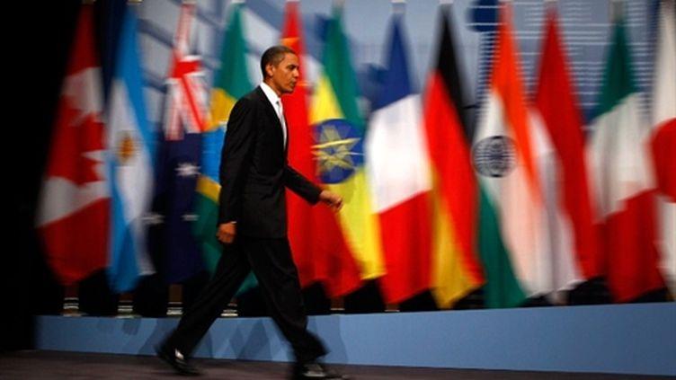 Un sommet aux résultats assez flous (AFP/CHIP SOMODEVILLA)