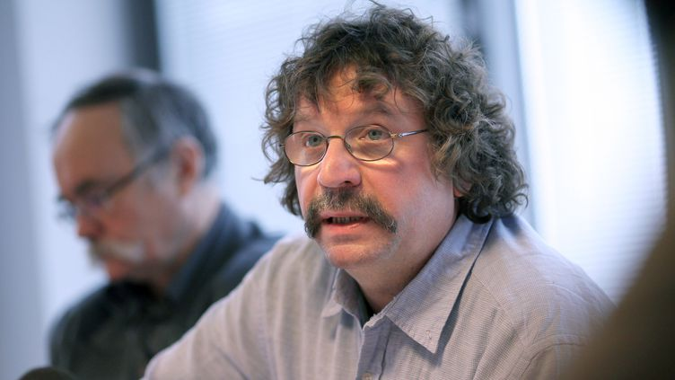 Fabien Gache, délégué syndical central CGT du constructeur Renault. (THOMAS COEX / AFP)
