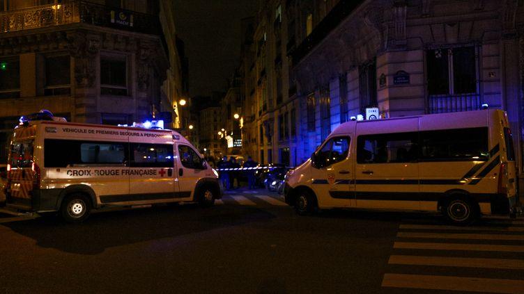 Une attaque au couteau a été perpétrée samedi 12 mai à Paris, dans le 2e arrondissement. (ANTHONY DEPERRAZ / CROWDSPARK)