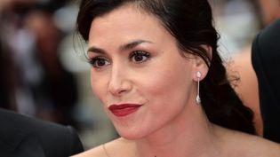 Olivia Ruiz, chanteuse, au Festival de Cannes, le 19 mai 2014. (BERTRAND LANGLOIS / AFP)