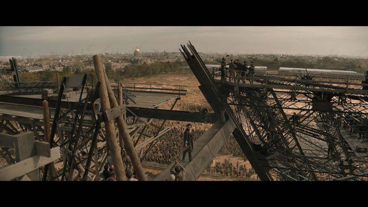 """Romain Duris dans """"Eiffel"""" deMartin Bourbellon (2021). (VVZ Production - Pathé Films)"""
