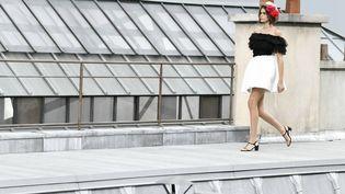 La topKaia Gerberau défilé Chanel d'octobre 2019. (IK ALDAMA / IK ALDAMA)