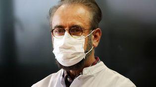 Denis Malvy, l'infectiologue au CHU de Bordeaux, le 17 mars 2020. (LAURENT THEILLET / MAXPPP)