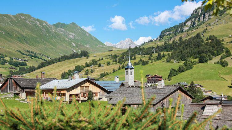 Village du vieux Chinaillon dans la station du Grand-Bornand, en Haute-Savoie. (Office du tourisme du Grand-Bornand)