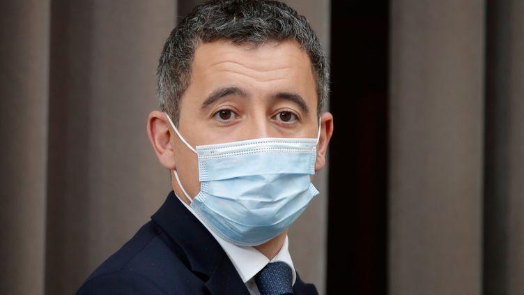 Gérald Darmanin, le ministre de l'Intérieur, le 9 décembre 2020, à Paris. (CHARLES PLATIAU / POOL / REUTERS POOL)