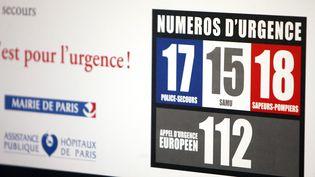 Les numéros d'appel d'urgence (photo d'illustration) (MAXPPP)