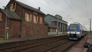 Un TERde la région Haute-Normandie le25 fevrier 2008. (MAXPPP)