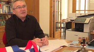 Philippe Geslan, maire de Méricourt       (FRANCE 3)