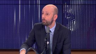 """Stanislas Guerini,délégué général de La République en marche était l'invité du """"8h30franceinfo"""", mercredi 25 novembre 2020. (FRANCEINFO / RADIOFRANCE)"""