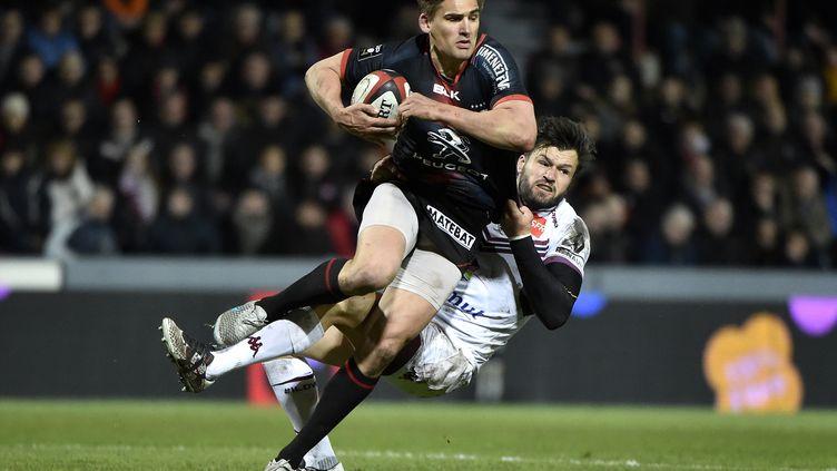 Toby Flood, l'Anglais du Stade Toulousain (PASCAL PAVANI / AFP)