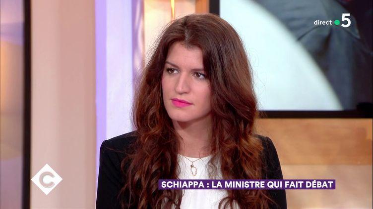 La secrétaire d'Etat, Marlène Schiappa, le 1er février 2018. (FRANCE 5)