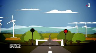 """Quand les passages à niveau ne fonctionnent pas, ou les """"ratés de fermeture"""" (ENVOYÉ SPÉCIAL  / FRANCE 2)"""