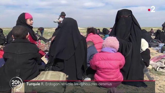 Offensive en Syrie : la Turquie veut renvoyer les prisonniers jihadistes dans leurs pays d'origine