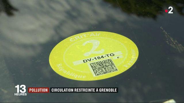 Pollution : circulation restreinte à Grenoble