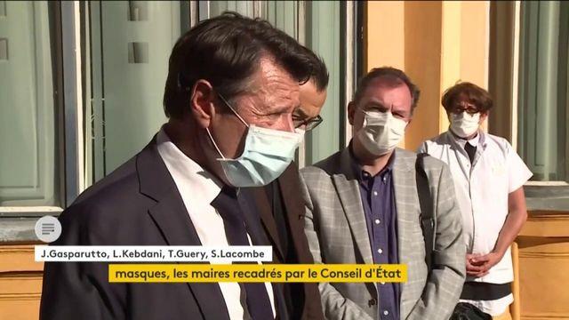 Masque obligatoire : le Conseil d'État coupe l'herbe sous le pied des maires volontaristes