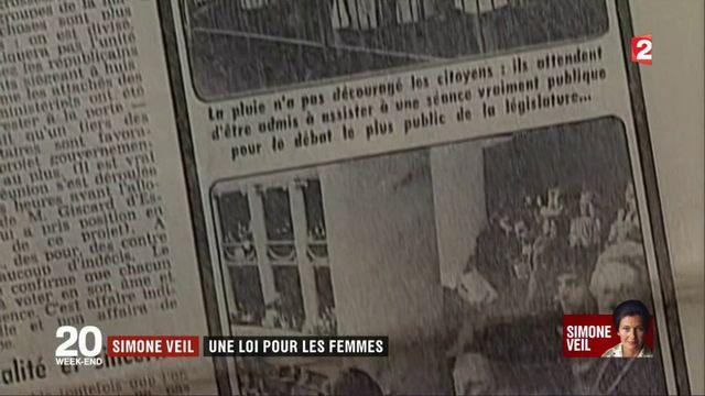Simone Veil : une loi pour les femmes