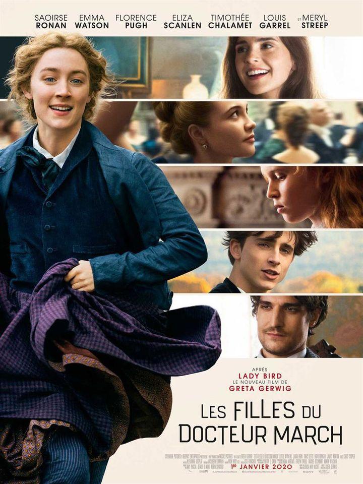 """L'affiche de """"Les Filles du Docteur March"""" deGreta Gerwig. (Sony Pictures Releasing France)"""