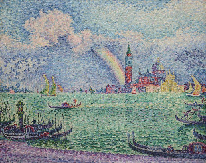 Paul Signac (1863–1935), Arc-en-ciel, Venise, 1905, Huile sur toile, (Collection particulière © Schaelchli-Schmidt Zurich)