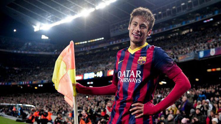 Le joueur brésilien du FC Barcelone, Neymar