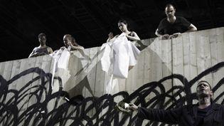 """""""Le Roi Lear"""" de Shakespeare, mis en scène par Olivier Py  (Christophe Raynaud de Lage/Festival d'Avignon)"""
