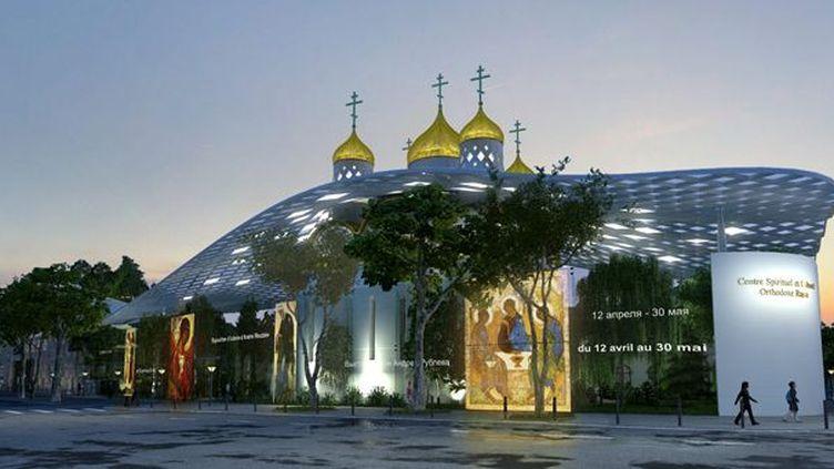 Le projet de l'Eglise orthodoxe du Quai Branly  (Arch group)