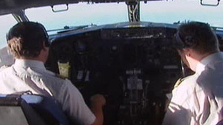 Dans le cockpit d'un Airbus A330 (© France)