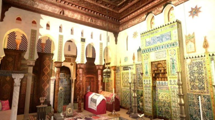 La mosquée de la maison de Pierre Loti à Rochefort, actuellement en travaux. (France 3 Poitou-Charentes)