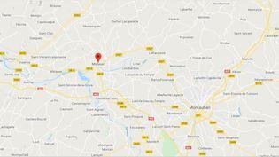 Moissac (Tarn-et-Garonne). (CAPTURE D'ECRAN GOOGLE MAPS)