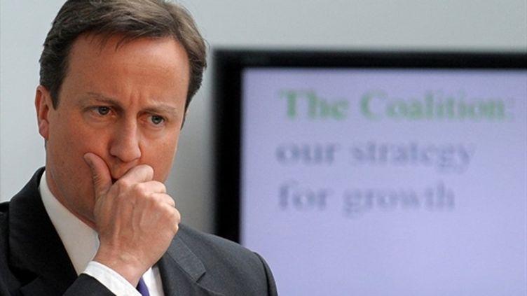 David Cameron, Premier ministre britannique. (AFP)