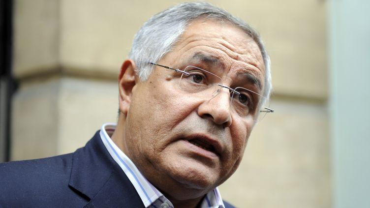 L'avocat et ancien conseiller officieux de l'Elysée sur les affaires africaines, Robert Bourgi, le 12 septembre 2011, à Paris. (JOHANNA LEGUERRE / AFP)