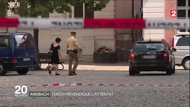 Ansbach : Daech revendique l'attentat