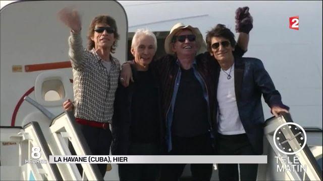 Cuba : les Rolling Stones en concert gratuit à La Havane