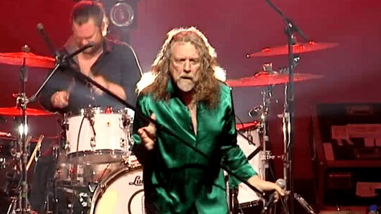 Robert Plant à Colmar  (France 3)
