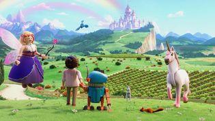 """Scène du film """"Playmobil"""". (On Entertainement)"""